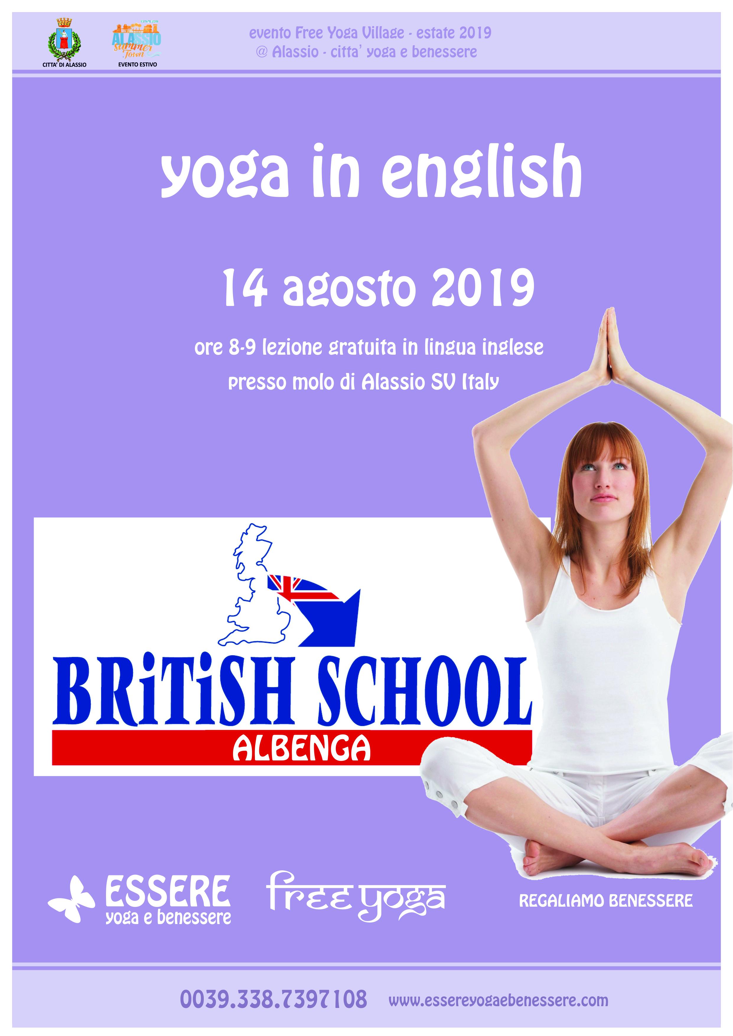 british-school-english-essere-free-yoga-gratuito-benessere-per-tutti-village-citta-alassio-albenga-estate-lucia-ragazzi-lingua-inglese-scuola-summer-town-wellness