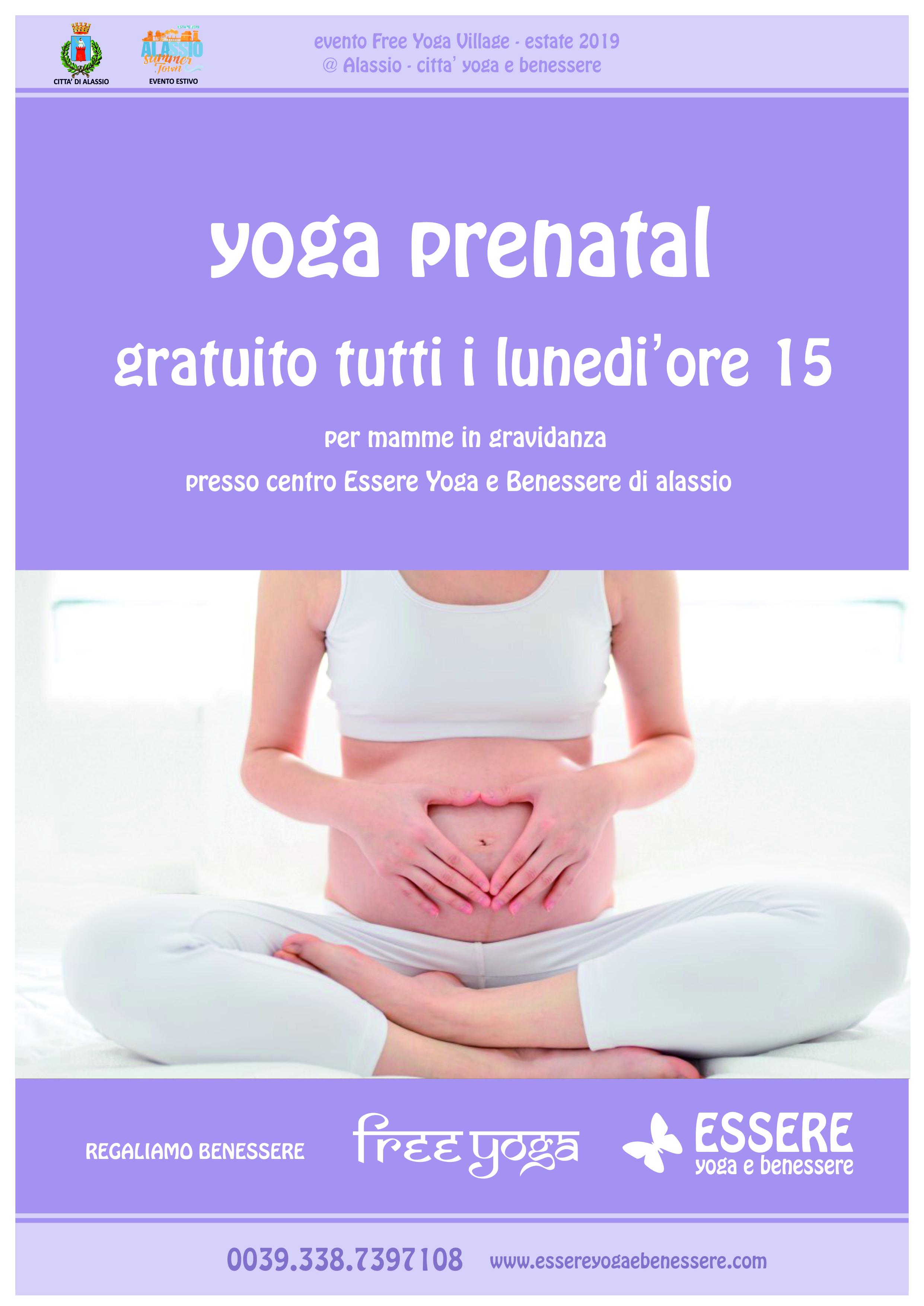 loca-A4-prenatal-essere-free-yoga-gratuito-benessere-per-tutti-bambini-village-citta-alassio-estate-lucia-ragazzi-gravidanza-summer-town-wellness