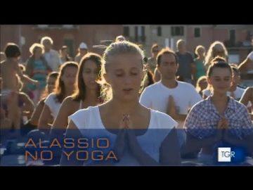 TG RAI: Free Yoga a Laigueglia e ad Alassio niente yoga gratuito !!