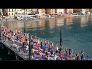 Free Yoga Village 2 - Alassio 2019 - Essere Yoga e Benessere - Lucia Ragazzi -