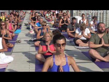 1 - Free Yoga - Village - Alassio 2019 - Essere Yoga e Benessere - Lucia Ragazzi -